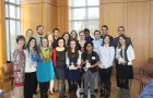 'Distinguished' seniors honored in Knobel Hall